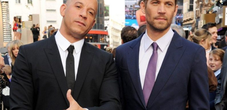 Vin Diesel Says He and Paul Walker Dodged the Cops in Real-Life Street Race