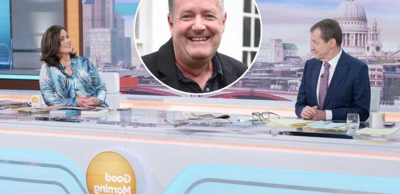 'GMB' ratings plunge to record low following Piers Morgan's exit