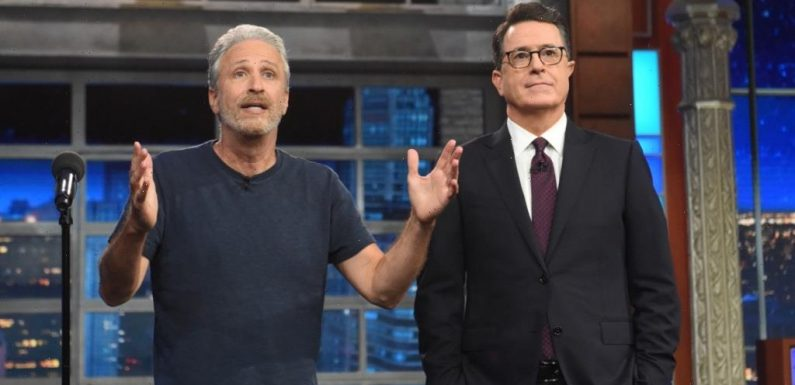 'The Late Show with Stephen Colbert': Jon Stewart To Be CBS Show's First In-Studio Guest On Return To Ed Sullivan Theater
