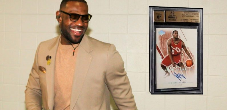 $5.2 Million For Lebron James: The Highest Selling Basketball Card In History