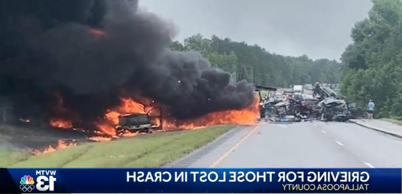 9 Children Killed In Horrific 15-Car Pileup On Father's Day Weekend