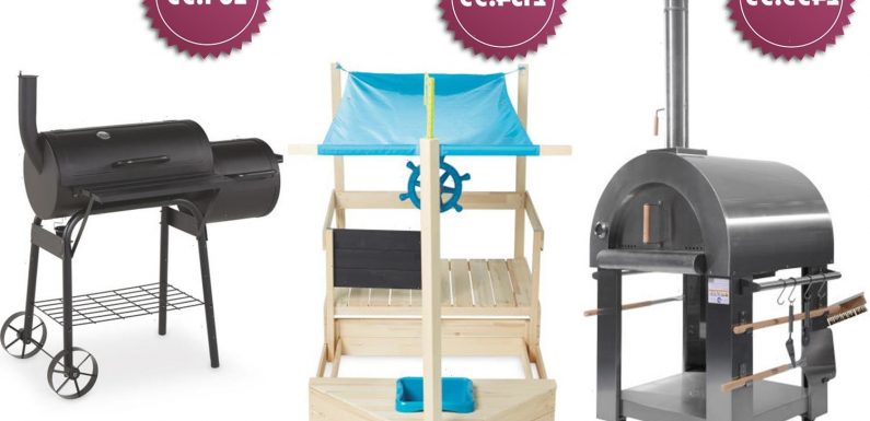 Aldi's Specialbuys this weekend include a barrel BBQ and a pizza oven – and you can pre-order from today