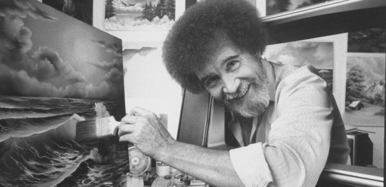 Bob Ross Was a Drill Sergeant for 20 Years Before He Became a Beloved Artist and TV Star
