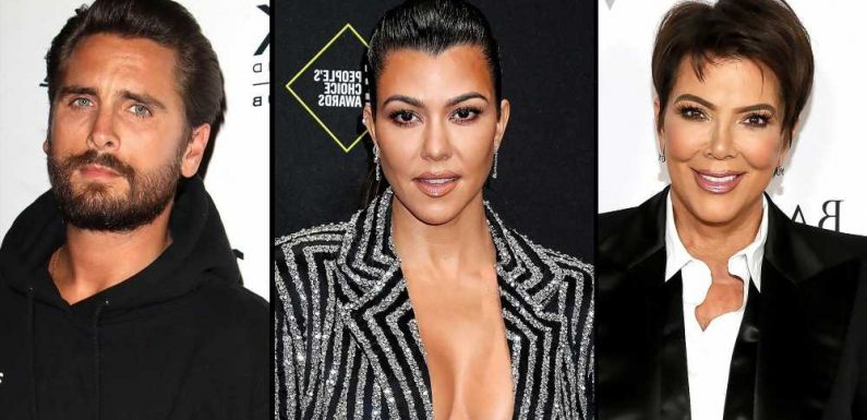 Kris Jenner Tries to Convince Kourtney to 'Grow Old' With Scott Disick