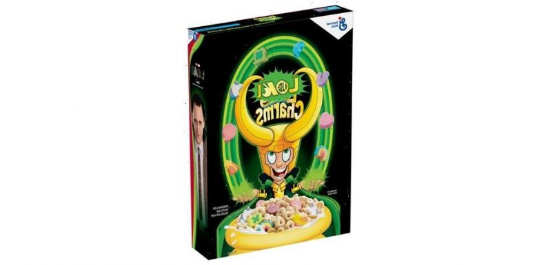 Loki Transforms Lucky Charms Cereal Into His Very Own Loki Charms