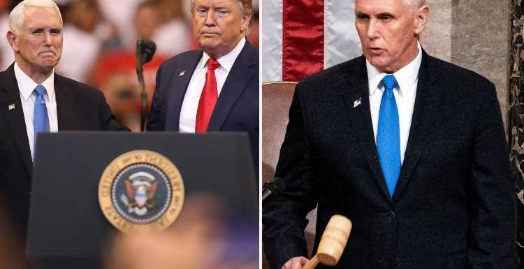 Pence takes biggest swipe yet at Trump saying he was 'PROUD' to certify Biden's win and slams 'un-American' MAGA critics