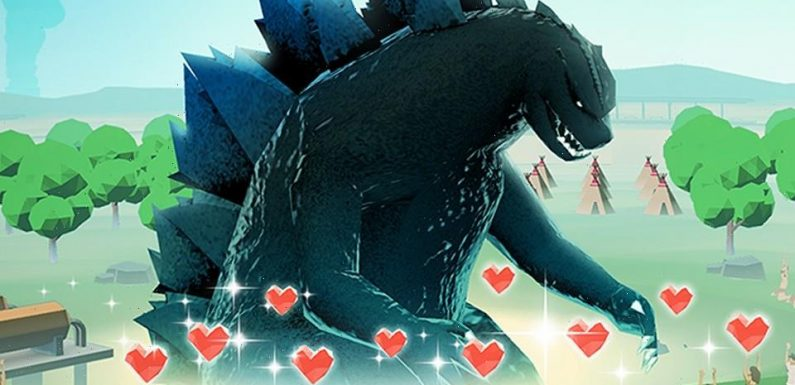 Raise Your Own Godzilla In the Kaiju's Latest Mobile Game