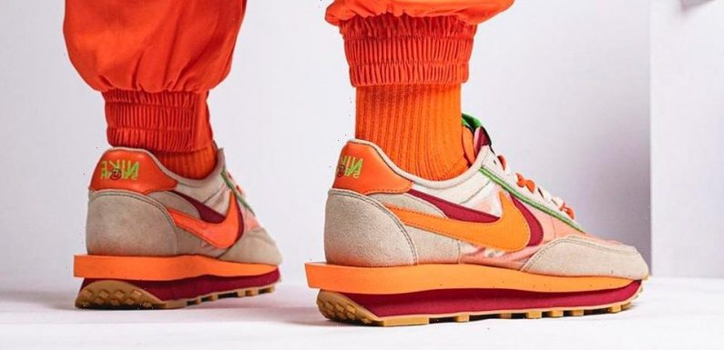 Take Another Look at the CLOT x sacai x Nike LDWaffle