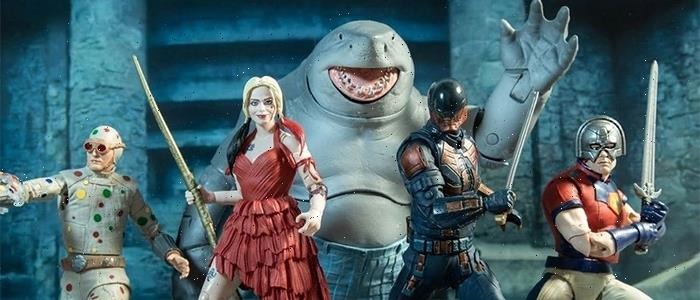 'The Suicide Squad' Action Figures Revealed, But Getting King Shark Will Be a Pricey Endeavor