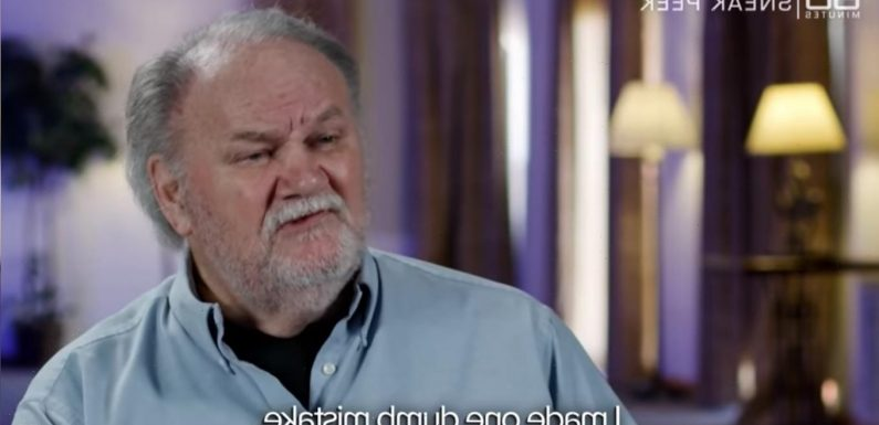 Thomas Markle raced out & gave an interview two seconds after Meghan gave birth