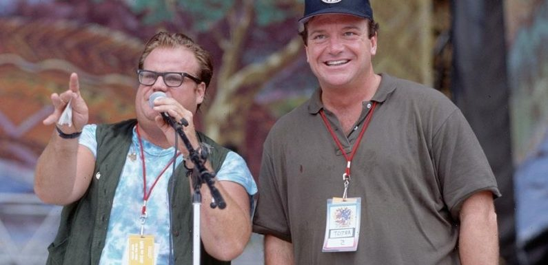 Tom Arnold says he was late 'Saturday Night Live' star Chris Farley's sober sponsor: 'He had too much fun'