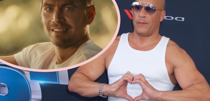 Vin Diesel Honors Paul Walker As F9 Approaches Premiere At… Wait, CANNES?! REALLY??