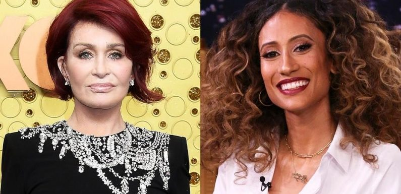 'The Talk' co-host Elaine Welteroth consoled Sharon Osbourne after on-air meltdown: audio