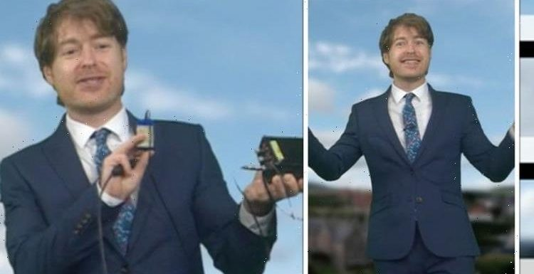 BBC Breakfast's Tomasz Schafernaker pulled up on blunder live on-air 'What are you doing?'