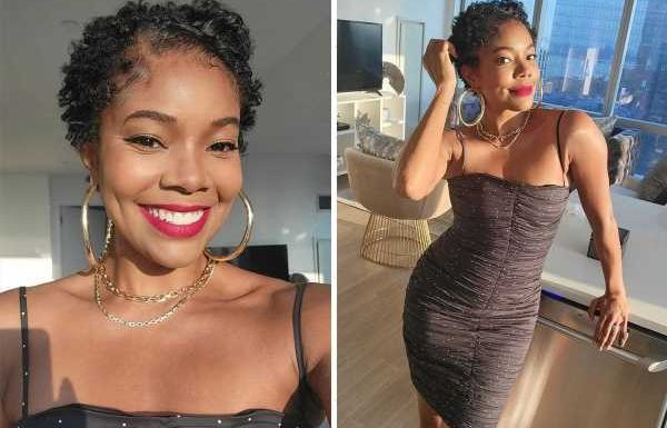 Gabrielle Union, 48, chops off her long hair & says new cut is 'foreign' to her – but fans love her 'Betty Boop' look