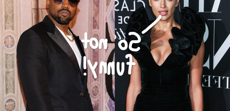 Irina Shayk Reportedly PISSED About Kanye West Breakup Rumors, They Are 'Still Very Much Dating'