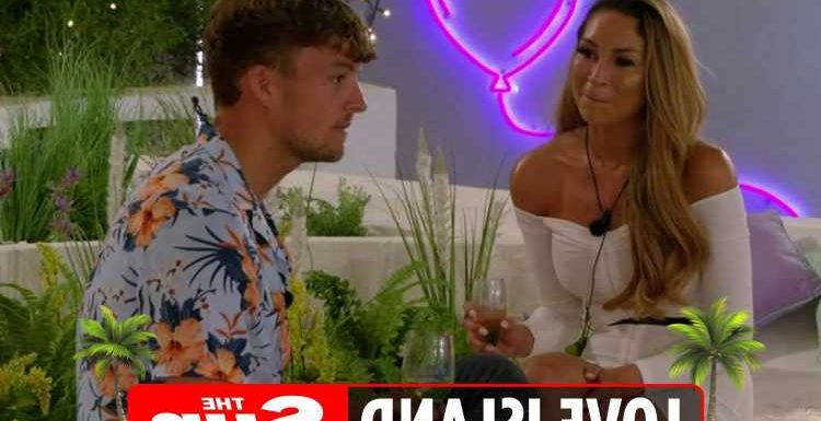 Love Island's Sharon makes savage dig that Hugo has no 'chemistry' with AJ and pairing is 'one-sided'