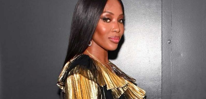 Naomi Campbell shares a glimpse of her baby daughter after welcoming baby in secret