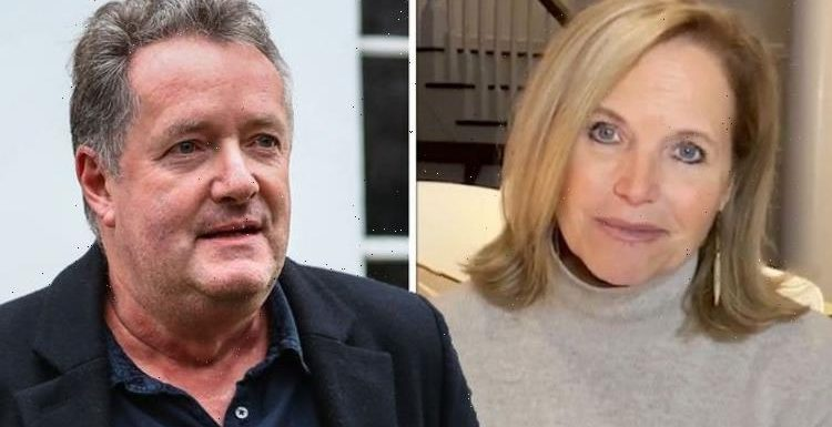 Piers Morgan hits back at Katie Couric over swipe 'Really want to play bully card?