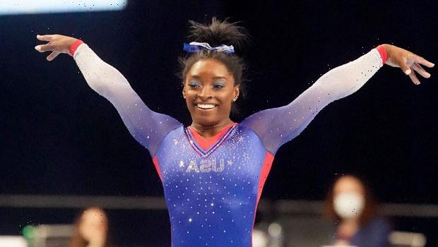 Simone Biles Cries On A Plane After Leaving Boyfriend Jonathan Owens For Tokyo Olympics
