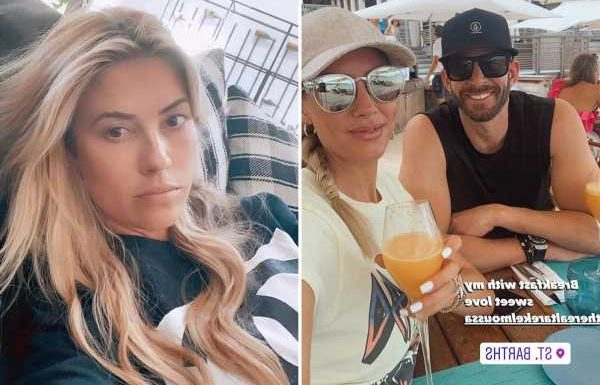 Tarek El Moussa jets off to St Barts with fiancee Heather Rae Young after 'calling Christina Haack a washed-up loser'