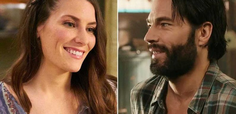 Tim Rozon: Working with Schitts Creek star Sarah Levy again is comforting