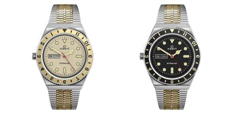 Timex Revisits Q Timex With Pair of Vintage Two-Tone Makeovers