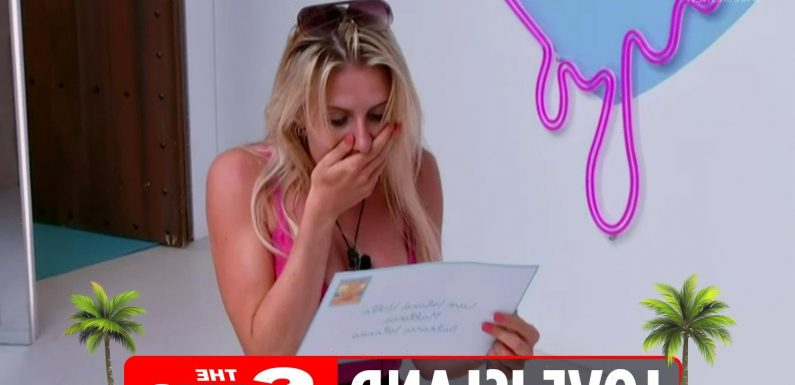 What is the Love Island postcard on Casa Amor?