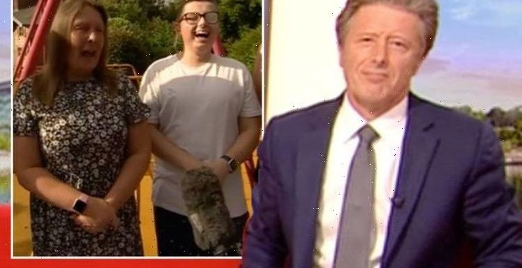 What reaction is that! Charlie Stayt red-faced as guest savages BBC stars appearance