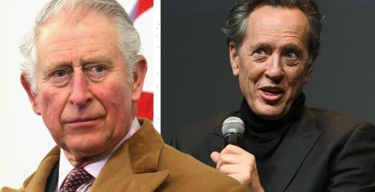 What the hell are you doing?' Richard E Grant called out over Prince Charles meeting