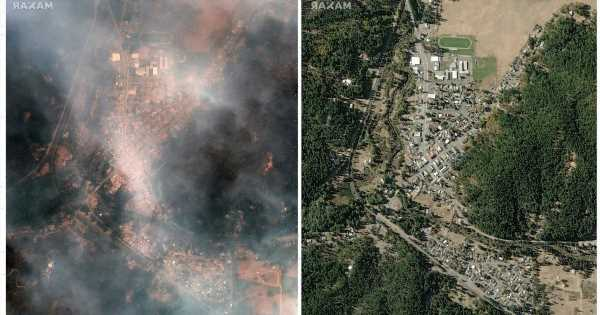 After one month, Dixie Fire continues to rage with hundreds of homes destroyed