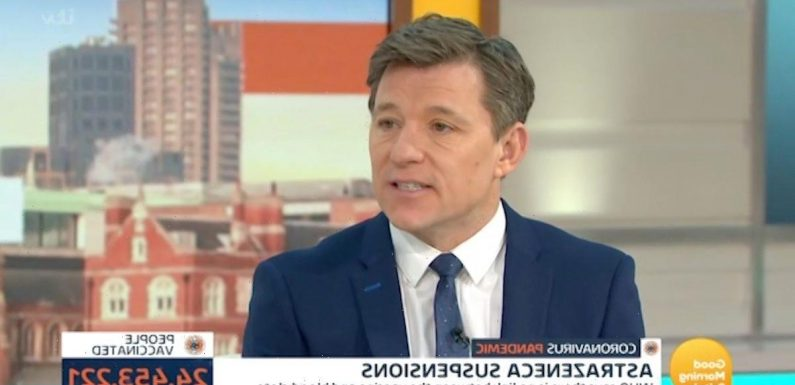 Ben Shephard forced to miss event as he struggles with gruesome knee injury