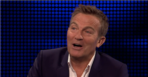 Bradley Walsh in hysterics as he asks cheeky love letter question on The Chase