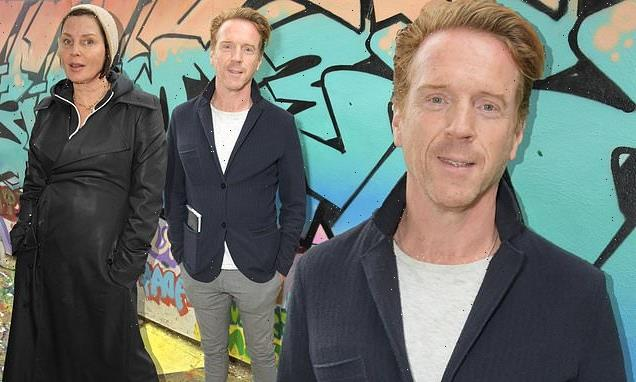 Damian Lewis attends a performance in memory of wife Helen McCrory