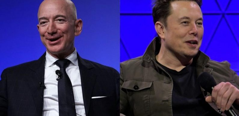 Elon Musk Says Jeff Bezos 'Retired To Pursue a Full-Time Job Filing Lawsuits Against SpaceX'