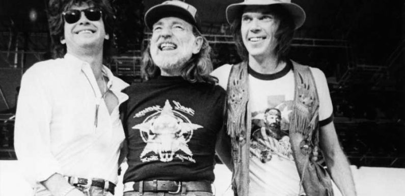 Flashback: Neil Young Plays 'Hey Hey, My My' at First Farm Aid in 1985