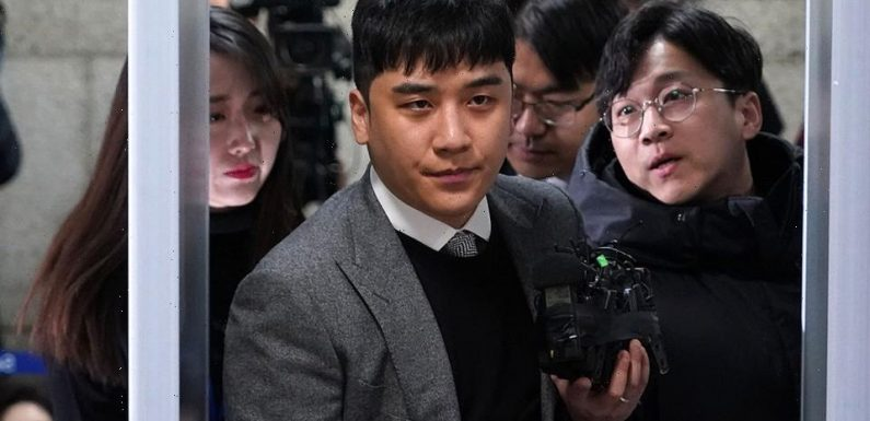 Former BigBang Member Seungri Sentenced to Three Years in Prison on Sex Scandal Charges