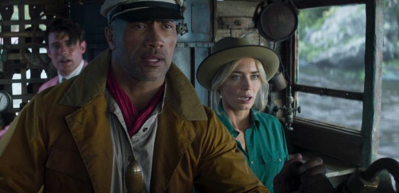 'Jungle Cruise' Sails to 3rd Among Streaming Movies in Nielsen's Rankings