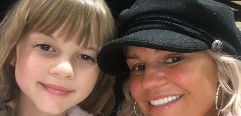 Kerry Katona admits daughter came home in tears after being bullied at school