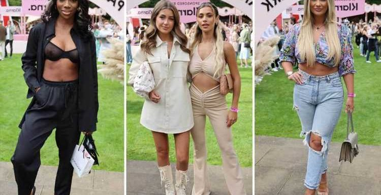 Love Island stars reunite as Georgia Steel, Joanna Chimonides party with Yewande Biala and Shaughna Phillips