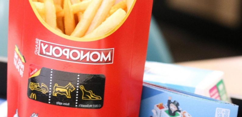 McDonalds fans confused by expired Monopoly tickets one day after game launch