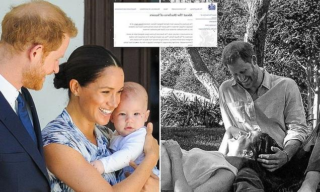 Meghan Markle's bio on Royal Family's site updated to include Lilibet
