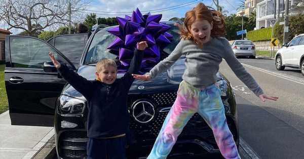 Mum buys 9-year-old daughter £140k Mercedes car even though she cant drive yet
