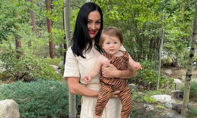 Nikki Bella Thanks Baby Boy for Being an Answered Prayer in Sweet 1st Birthday Tribute