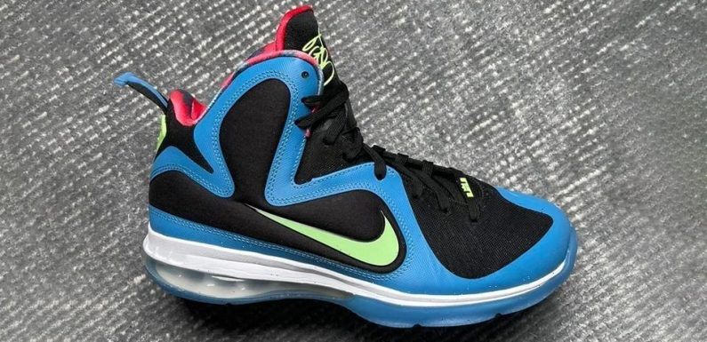 """The Nike LeBron 9 Returns with All-New """"South Coast"""" Colorway"""
