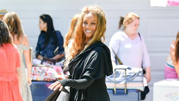 Tyra Banks Goes Makeup-Free & Shows Off Her Grey Hair, Natural Beauty In New Photos