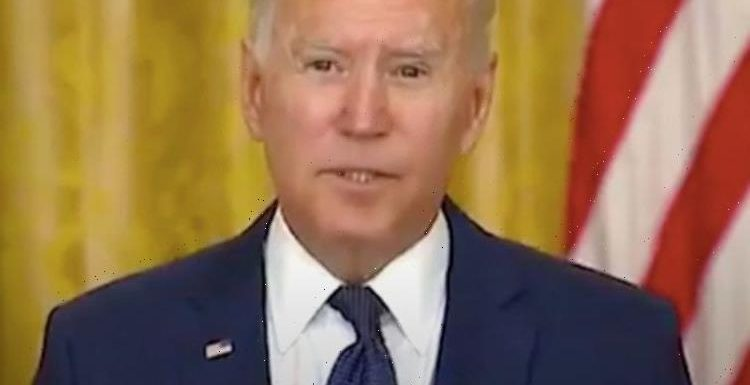 Who calls shots? Biden rises eyebrows as he says he was instructed to call on reporter
