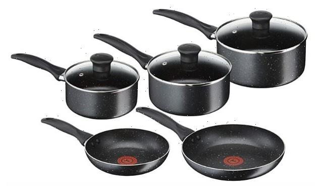You can save £62 off this FIVE piece pots and pans set by Tefel