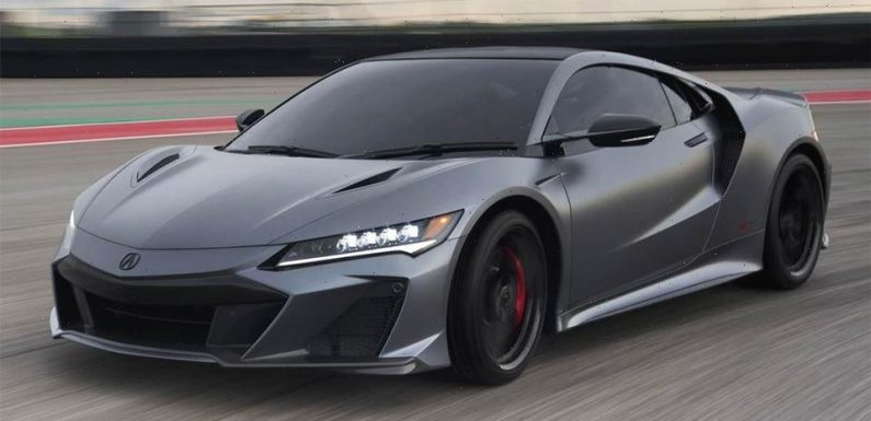 Acura Sold All of Its 300 US-Designated 2022 NSX Type S Supercars in Under 24 Hours