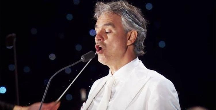 Andrea Bocelli singing Nessun dorma live in New York Citys Central Park – WATCH